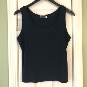Sympli The Best Navy Blue Tank Top